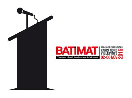 Conférence de presse des trois programmes PACTE, PTNB & PRDA lors du salon BATIMAT