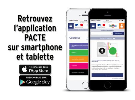 Lancement application numérique PACTE