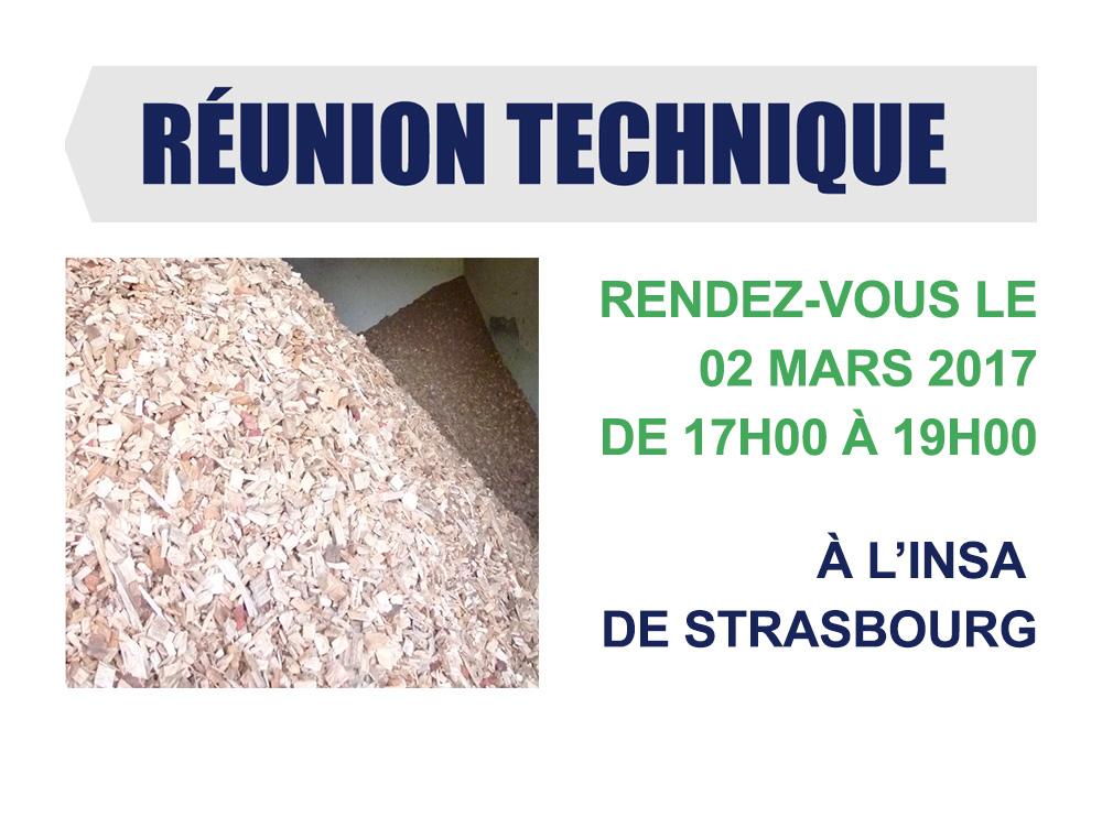 Réunion Technique - Strasbourg