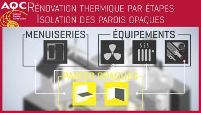 Vidéo - rénovation thermique par étapes - Isolation des parois opaques